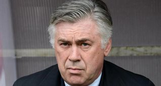 Карло Анчелотти, фото AFP