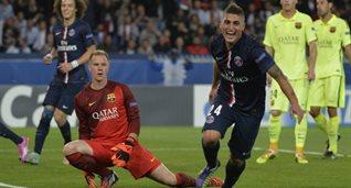 Верратти забил один из голов в ворота тер Штегена, Getty Images