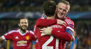 Манчестер Юнайтед разобрался с Брюгге