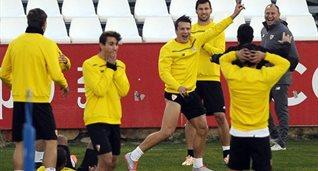 Севилья в хорошем настроении готовятся к матчу против Ювентуса, uefa.com