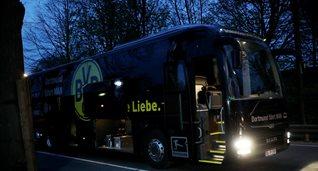 Автобус Боруссии Д, Фото Getty Images