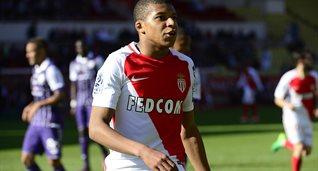 Мбаппе покорилась отметка в 15 голов в Лиге 1, ФК Монако