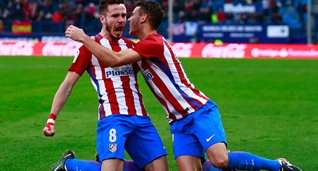 Сауль забил один из голов, Getty Images