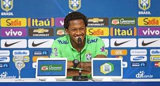 фред, фото конфедерации футбола бразилии