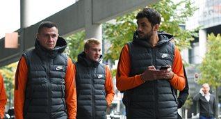 Шахтер перед матчем с Фейеноордом прогулялся по городу