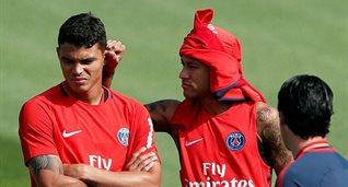 Тьяго Силва и Неймар, Reuters