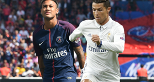 Реал — ПСЖ: Роналду против Неймара в цифрах
