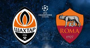 Шахтер — Рома: прогноз букмекеров на матч Лиги чемпионов