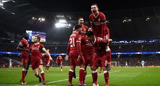 радость футболистов ливерпуля, getty images
