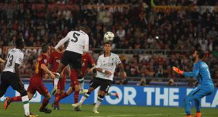 Противостояние Ромы и Ливерпуля стало самым результативным в истории полуфиналов Лиги чемпионов