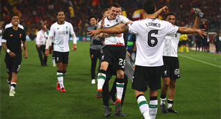 Ливерпуль проиграл Роме, но обошел Динамо, фото twitter.com/LFC