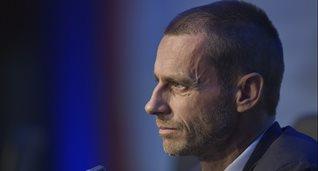 Александер Чеферин, фото: УЕФА