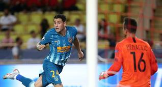 Атлетико одержал волевую победу над Монако