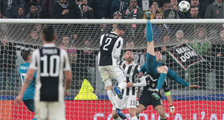 Гол Криштиану Роналду в ворота Ювентуса, Getty Images