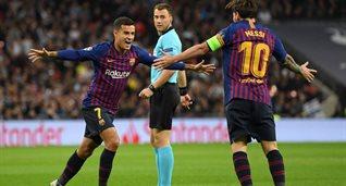 Самый быстрый гол Барселоны в ЛЧ с 2005 года в исполнении Коутиньо