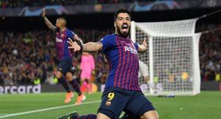 Суарес отметился первым забитым голом в нынешнем розыгрыше Лиги чемпионов