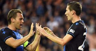 Ханс Ванакен (справа), photo Club Brugge