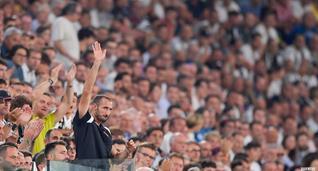 Во время матча против Наполи Джорджо Кьеллини также был на стадионе, фото ФК Ювентус