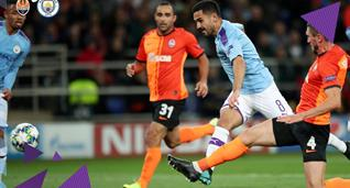 Шахтер — Манчестер Сити 0:3 Видео голов и обзор матча