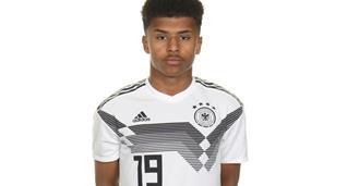 Карим Адейеми в составе сборной Германии U-17, Getty Images