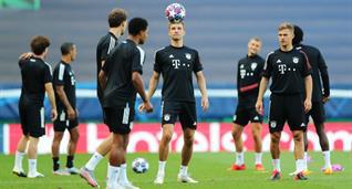 Бавария готовится к матчу с Лионов, Getty Images