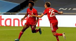 Коман стал автором 500 гола Баварии в Лиге чемпионов