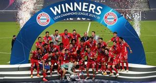 Бавария — обладатель кубка Лиги чемпионов-2019/20, Getty Images