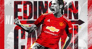 Манчестер Юнайтед включил Кавани, ван де Бека и Теллеса в заявку на Лигу чемпионов