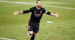 Рамос забил сотый гол за Реал. Это больше, чем у Зидана и Фигу