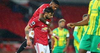 Манчестер Юнайтед минимально обыграл Вест Бромвич