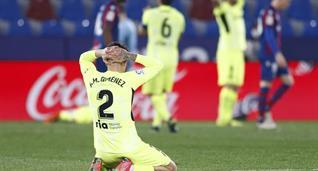 Хосе Мария Хименес в матче против Леванте, Getty Images