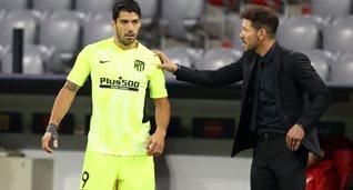 Луис Суарес (слева) и Диего Симеоне, Getty Images