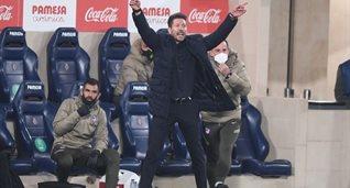 Диего Симеоне в матче против Вильярреала, Getty Images