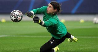 Янн Зоммер перед ответной игрой против Манчестер Сити, Getty Images
