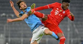 Марко Пароло в матче против Баварии, Getty Images