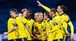 Швеция - Грузия, svenskfotboll.se