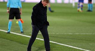 Рональд Куман в матче против Реала, Getty Images
