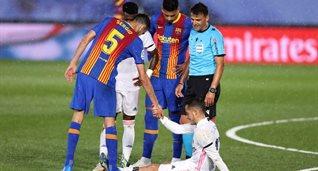 Лукас Васкес в матче против Барселоны, Getty Images