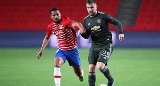 Матч Гранада - Манчестер Юнайтед, getty images