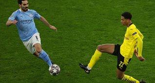 Джуд Беллингэм в ответном матче против Манчестер Сити, Getty Images