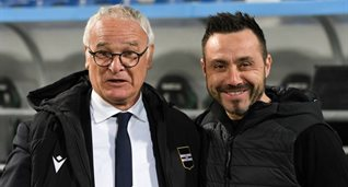 Клаудио Раньери и Роберто Де Дзерби (справа), Getty Images