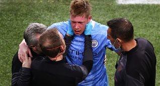 Кевин де Брюйне в матче против Манчестер Сити, Getty Images