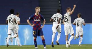 Барселона — Бавария, Getty Images