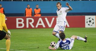 Гусев ставит точку, фото Ильи Хохлова, football.ua