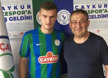 Александр Гладкий (слева), caykurrizespor.org.tr