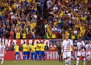 Бразилия обыграла США