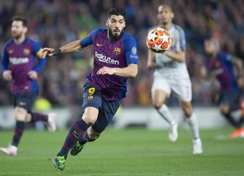 Луис Суарес, фото ФК Барселона