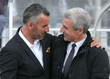 Иво Виейра (слева) и Луиш Каштру, фото O Jogo