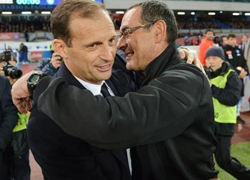 Массимилиано Аллегри и Маурицио Сарри, Getty Images