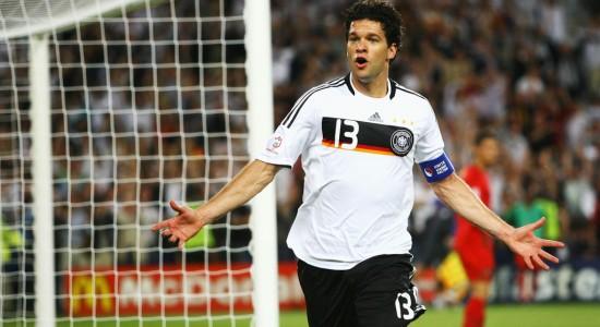 Футбол германия испания баллак фото
